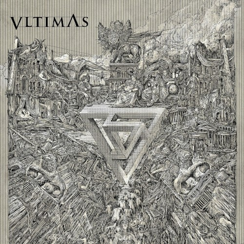 Album cover for Something Wicked Marches In by Vltimas.