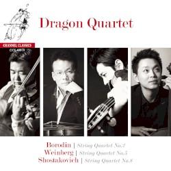 Borodin: String Quartet no. 2 / Weinberg: String Quartet no. 5 / Shostakovich: String Quartet no. 8 by Borodin ,   Shostakovich ,   Weinberg ;   Dragon Quartet