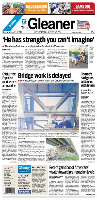 Gleaner The 2012 09 21