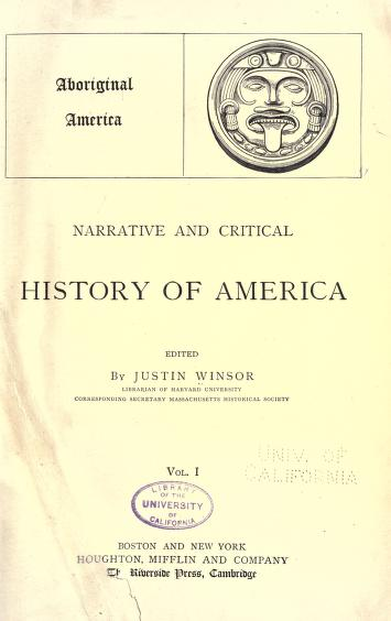 Download Narrative and critical history of America By Justin Winsor in pdf