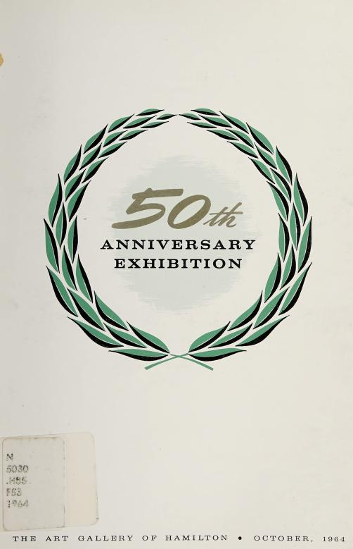 50th anniversary exhibition by Art Gallery of Hamilton