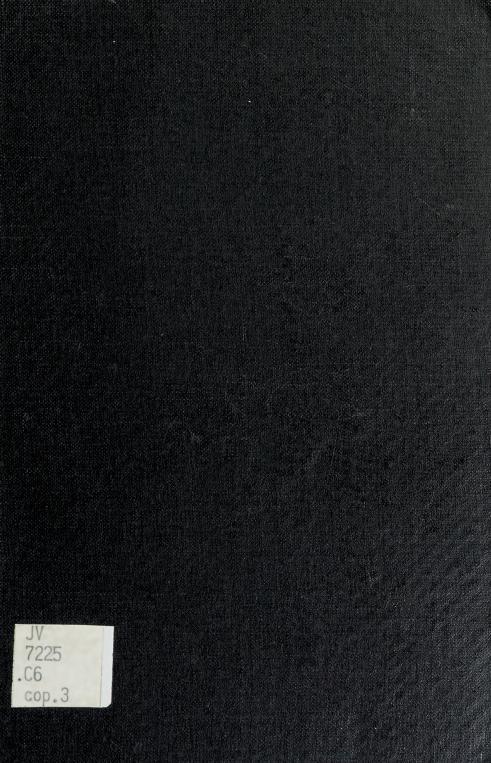 Canada's immigration policy by David C. Corbett