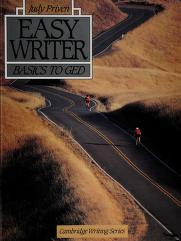 Cover of: Easy writer | Judy Priven