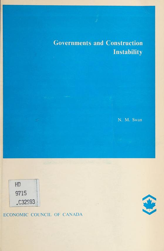 Governments and construction instability by Neil Swan