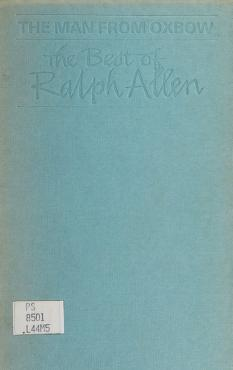Cover of: The man from Oxbow | Allen, Ralph