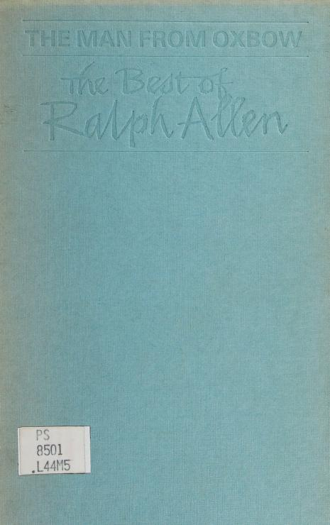 The man from Oxbow by Allen, Ralph