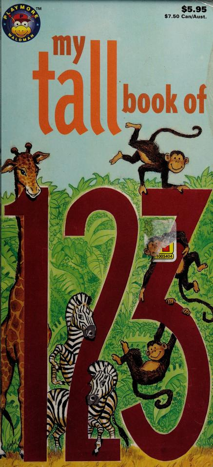 My Tall Book of 123 (My Tall Book Of....) by