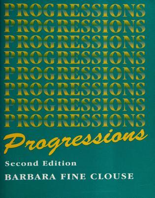 Cover of: Progressions   Barbara Fine Clouse